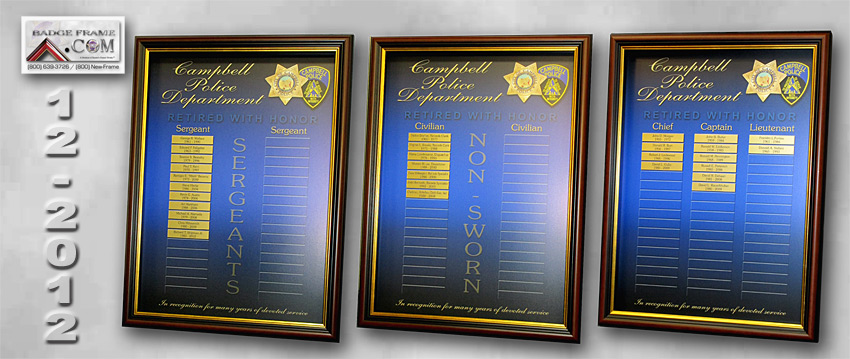 Campbell PD - Perpetual Plaques