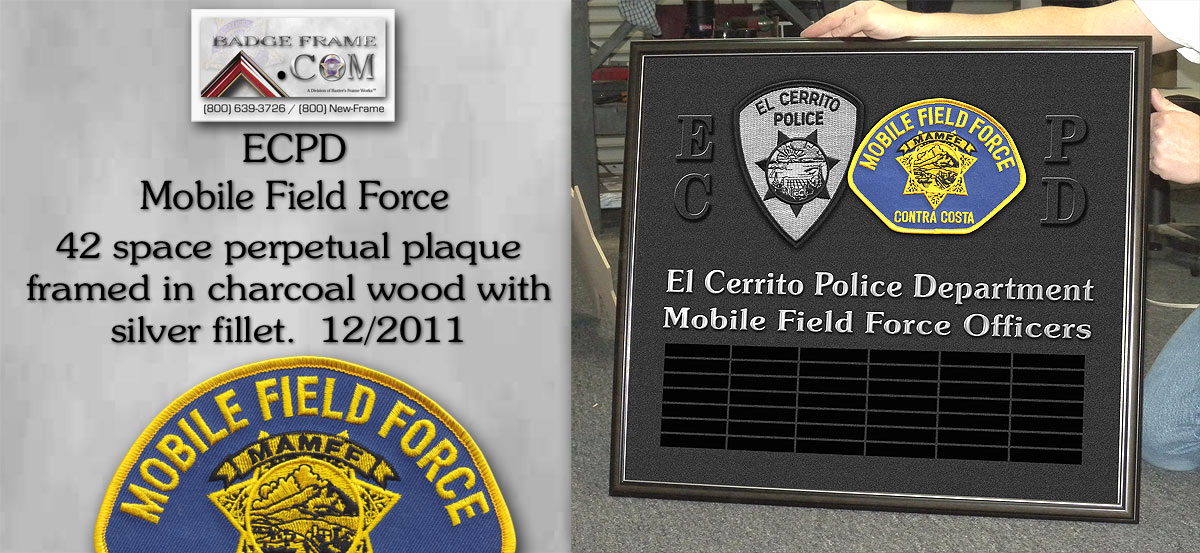 ECPD - Mobile Firld Force