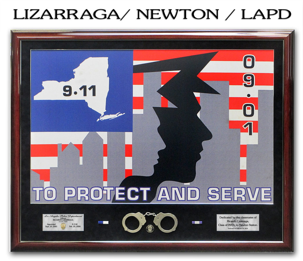 Lizarraga - LAPD - Dedication