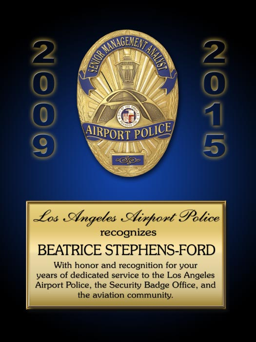 Los Angeles World Airport Police Department Projects from ...