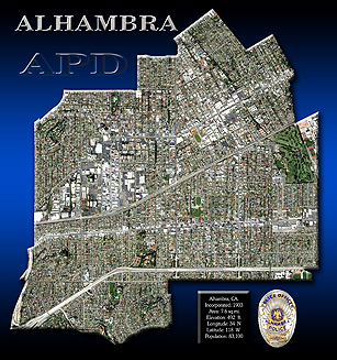 Alhambra -                   boundary View