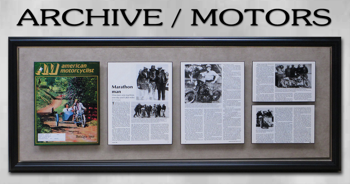 Archive Police Motors Presentation from Badge Frame