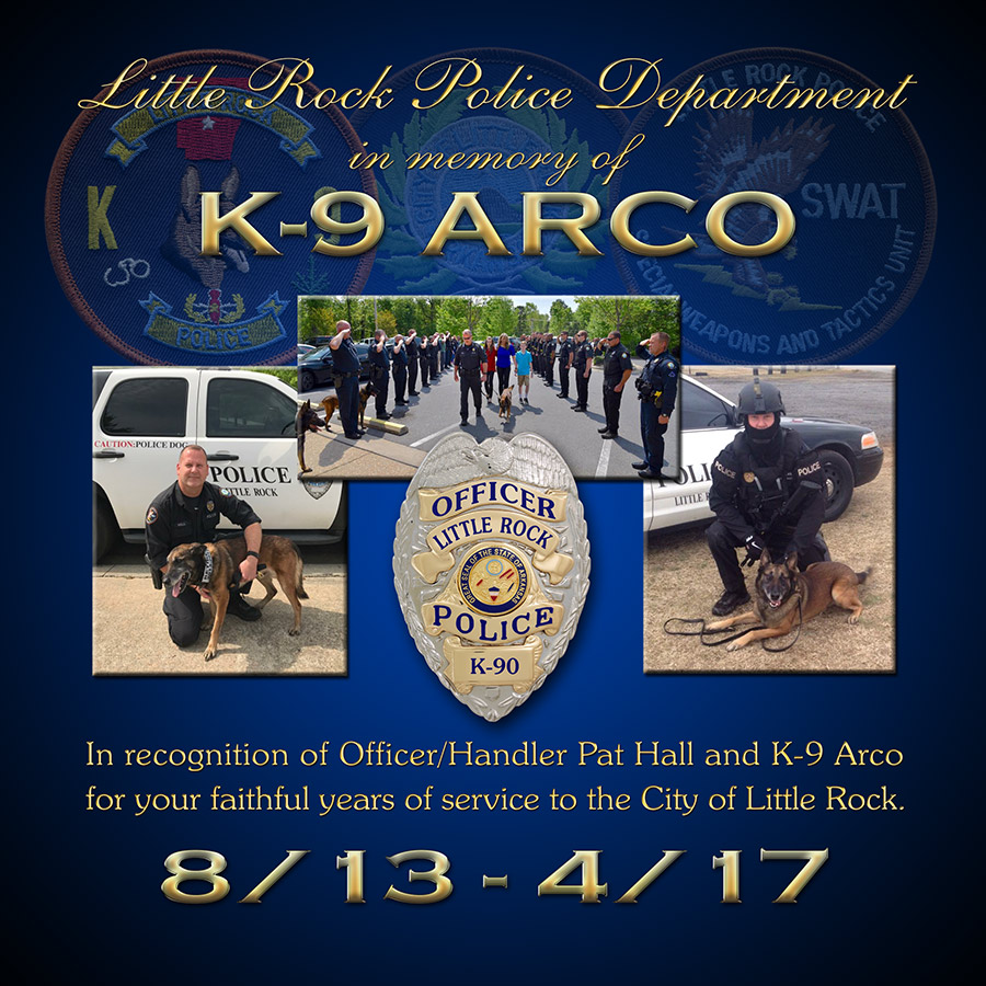 K-9 Presentation for Arco - Little Rock PD