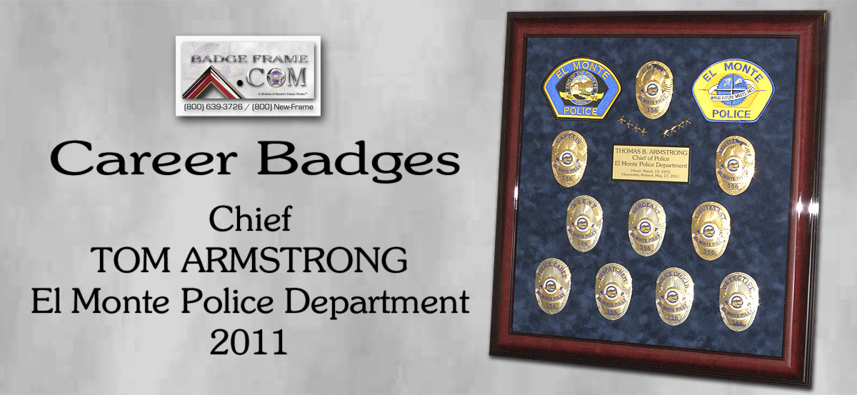 Chief Tom Armstrong - El Monte PD