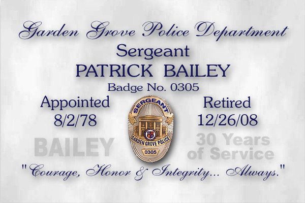 Bailey - Garden Grove PD