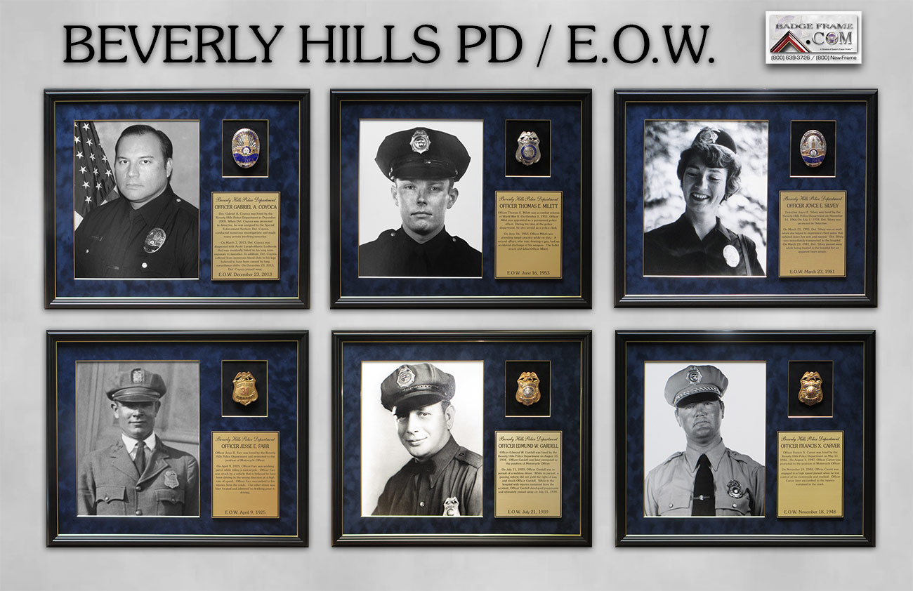 Beverley Hills PD - Fallen Officers