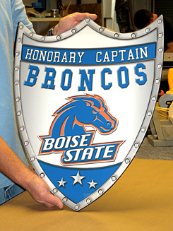 Boise State Shield