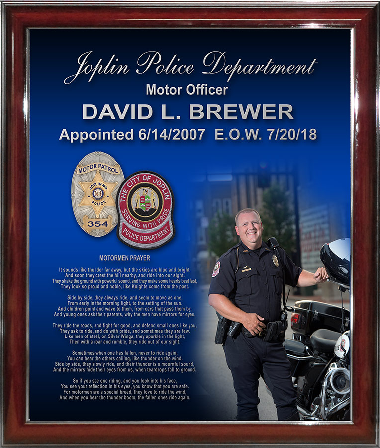 Brewer - Joplin PD - E.O.W.