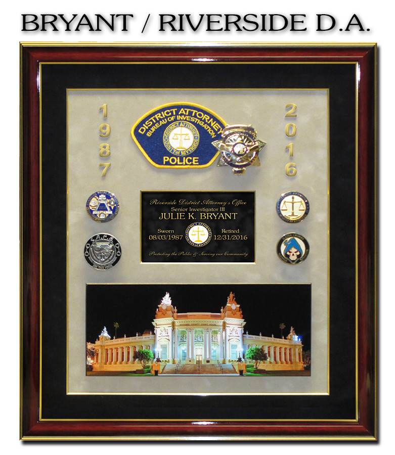 Bryant - Riverside D.A. Presentation from Badge Frame