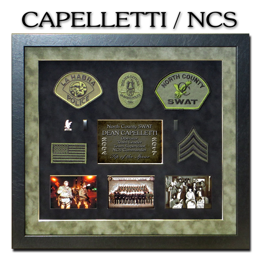 North County SWAT presentation from Badge Frame for Capelletti