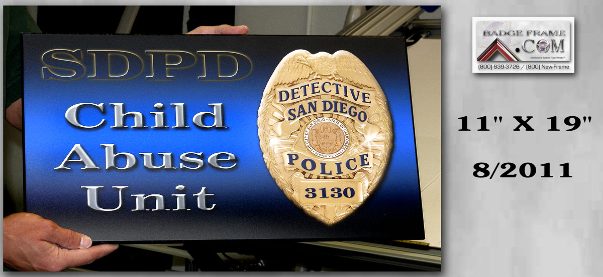 SDPD - Child Abuse Unit Sign