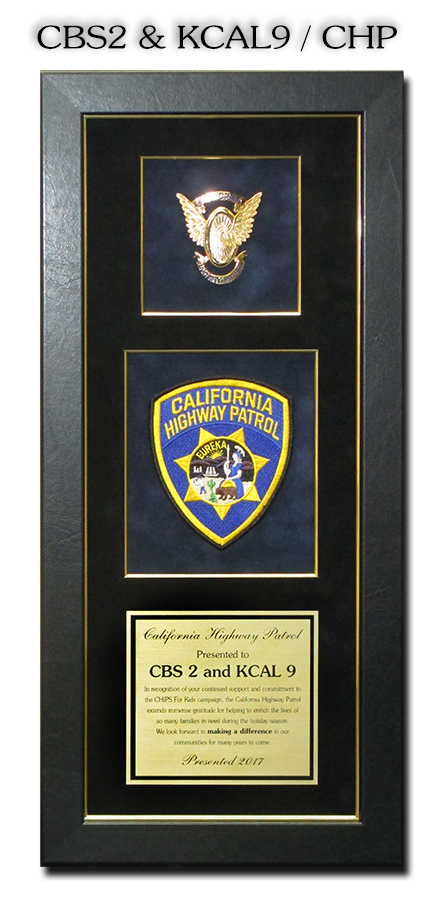 CHP Recognition from Badge Frame for CBS2 & KCAL