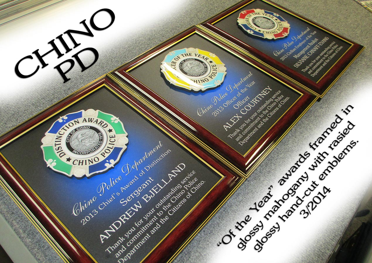 Chino PD - Of the Year Awards
