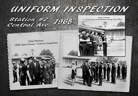 Chino PD 1968           Uniform Inspection