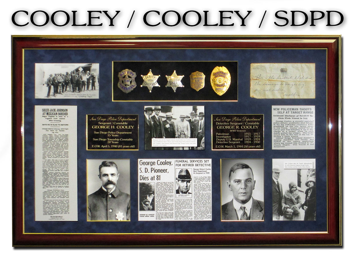Cooley Jr. and Sr. / San Diego           PD
