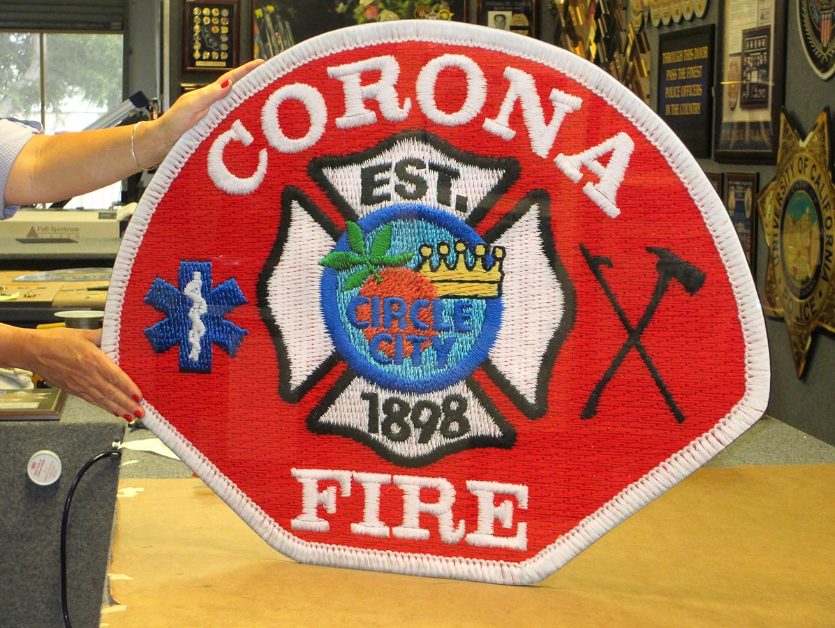 Corona Fire Patch