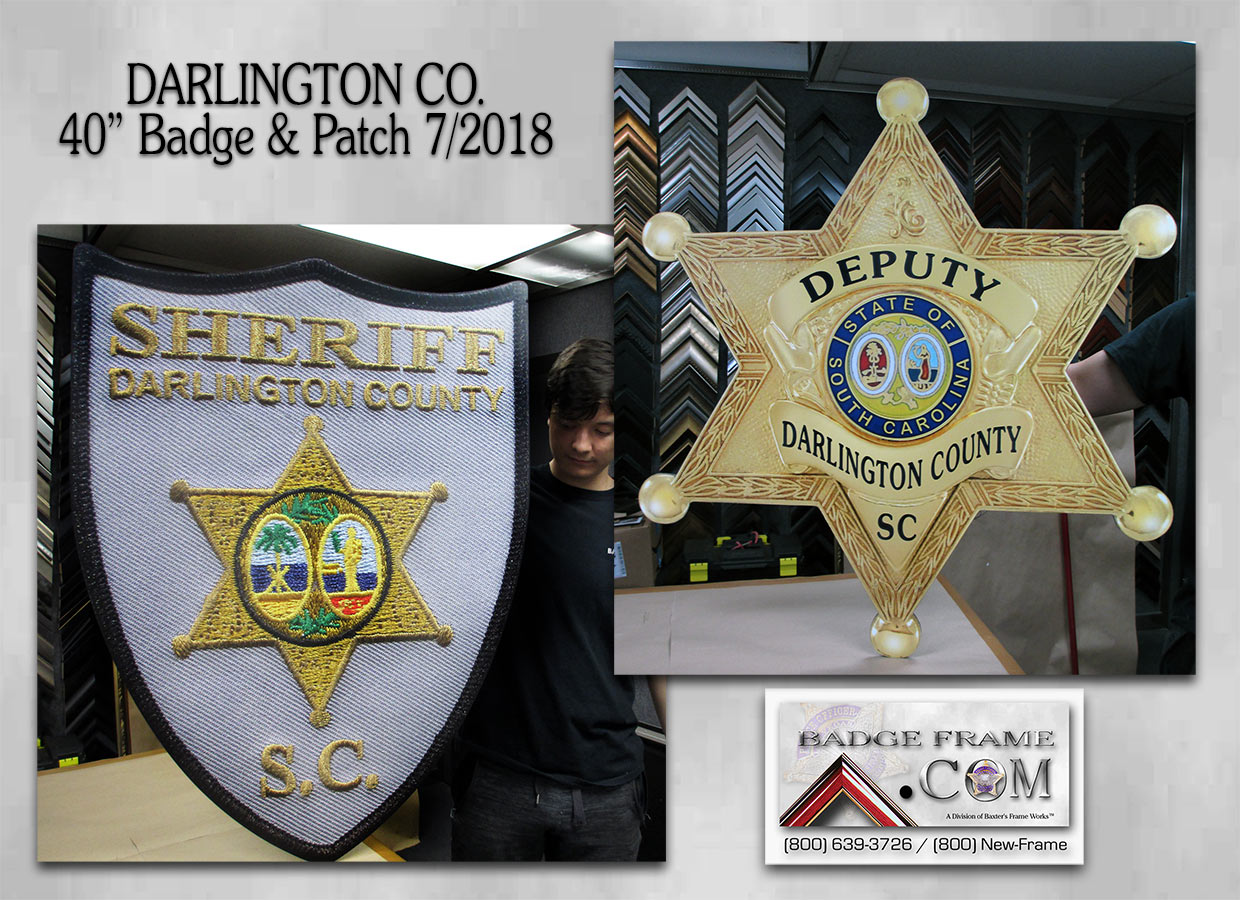 Darlington County Badge & Patch