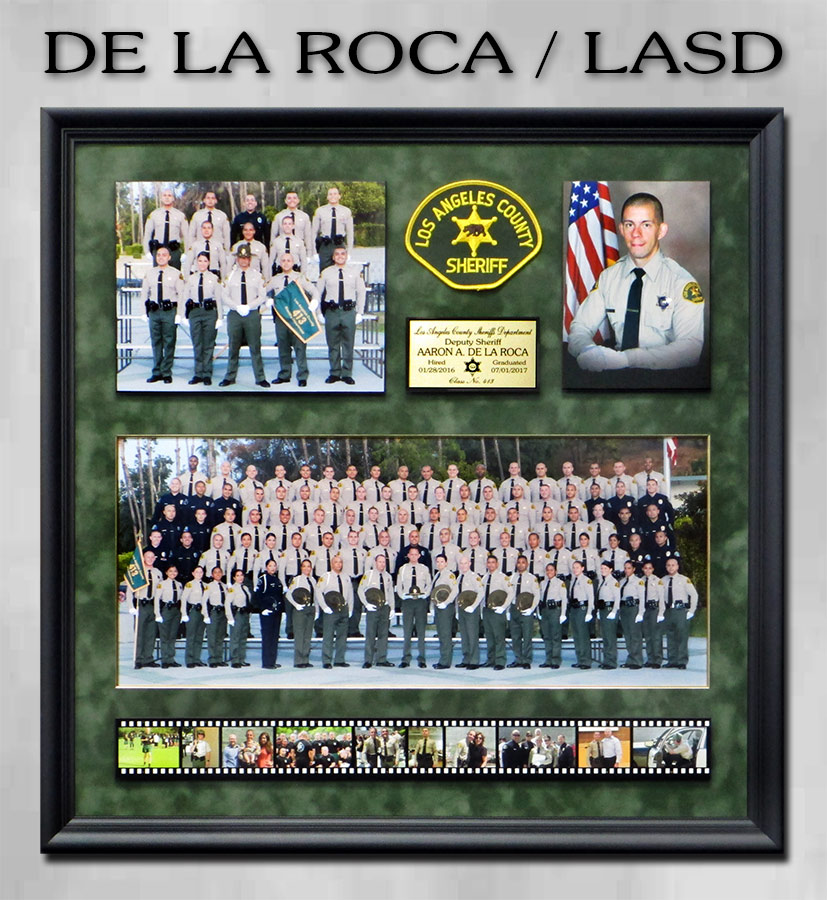 De La Roca - LASD from Badge               Frame