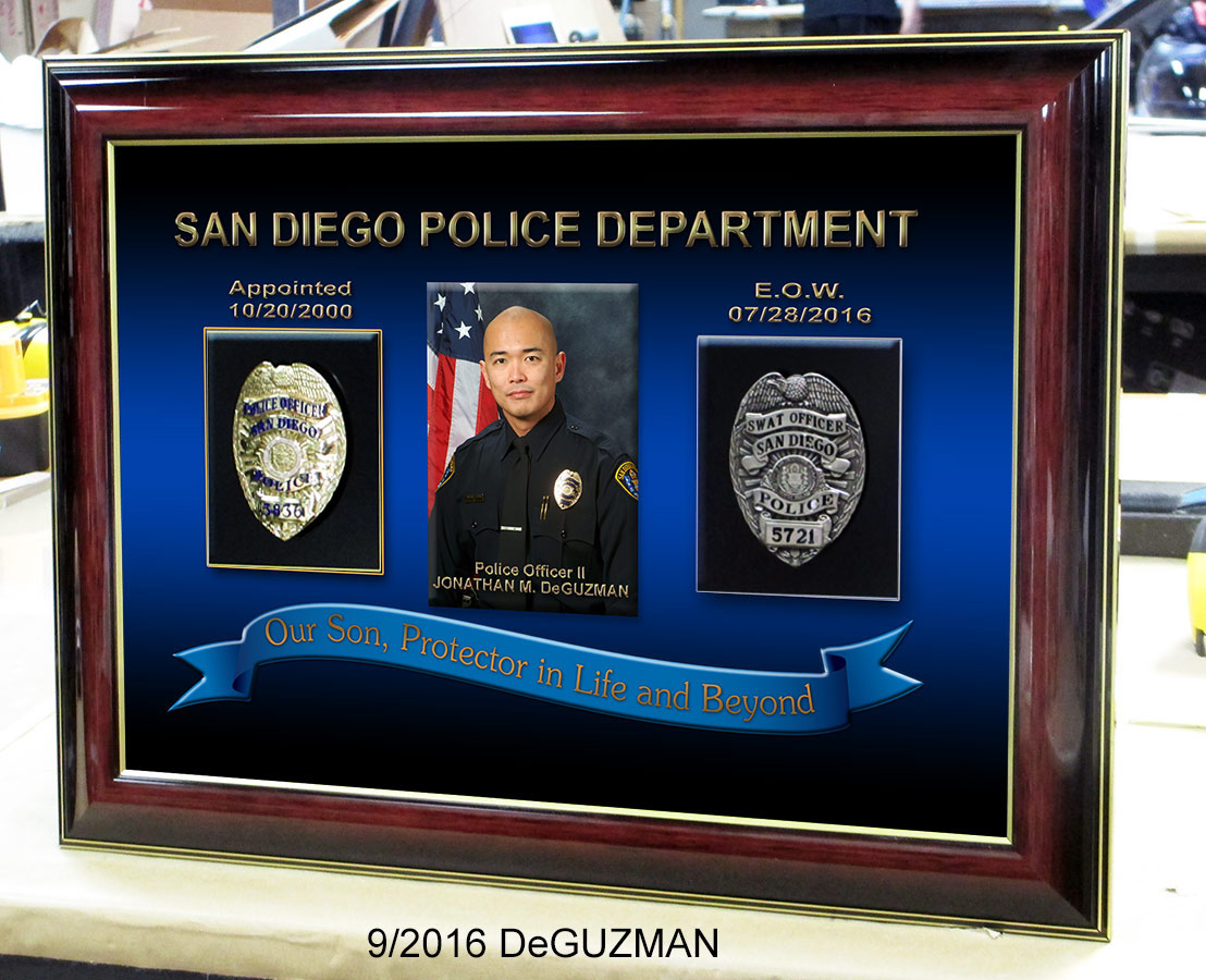 San Diego PD - E.O.W. DeGuzman presenation from Badge Frame 9-2016