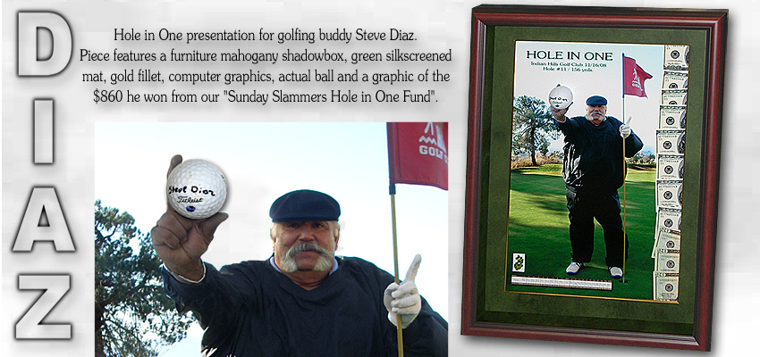 Steve Diaz - Hole in One