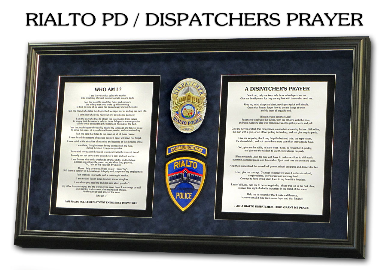 Dispatcher's                   Prayer