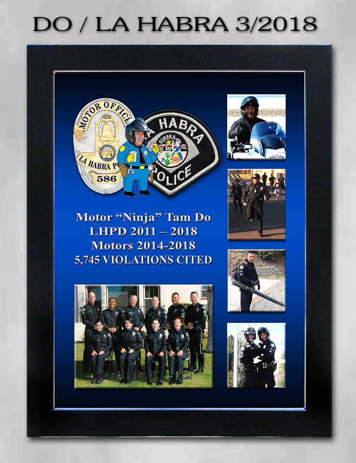 Do / La Habra Police Department retirement
