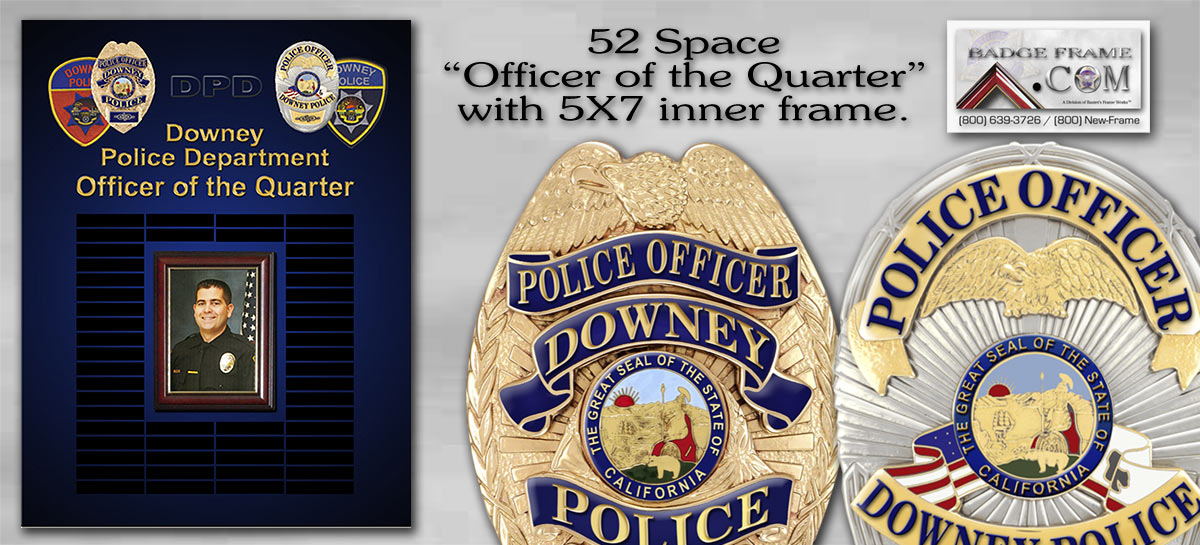 Downey PD - Officer of the Quarter
