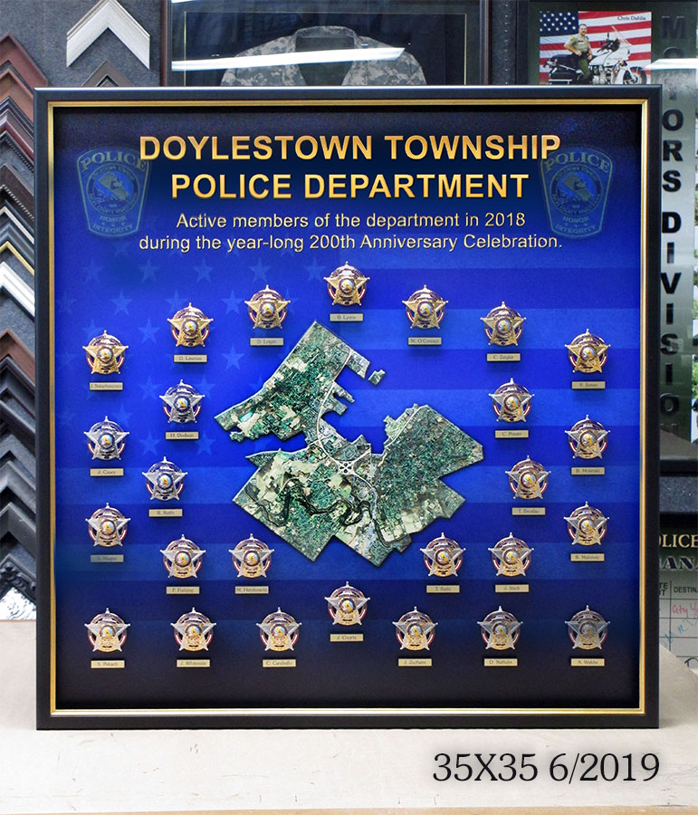 doylestown badge collection