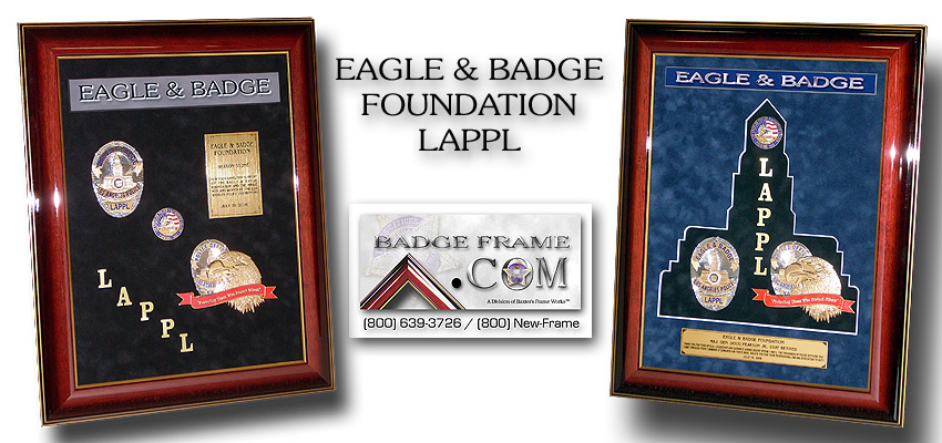 Eagle & Badge         Foundation