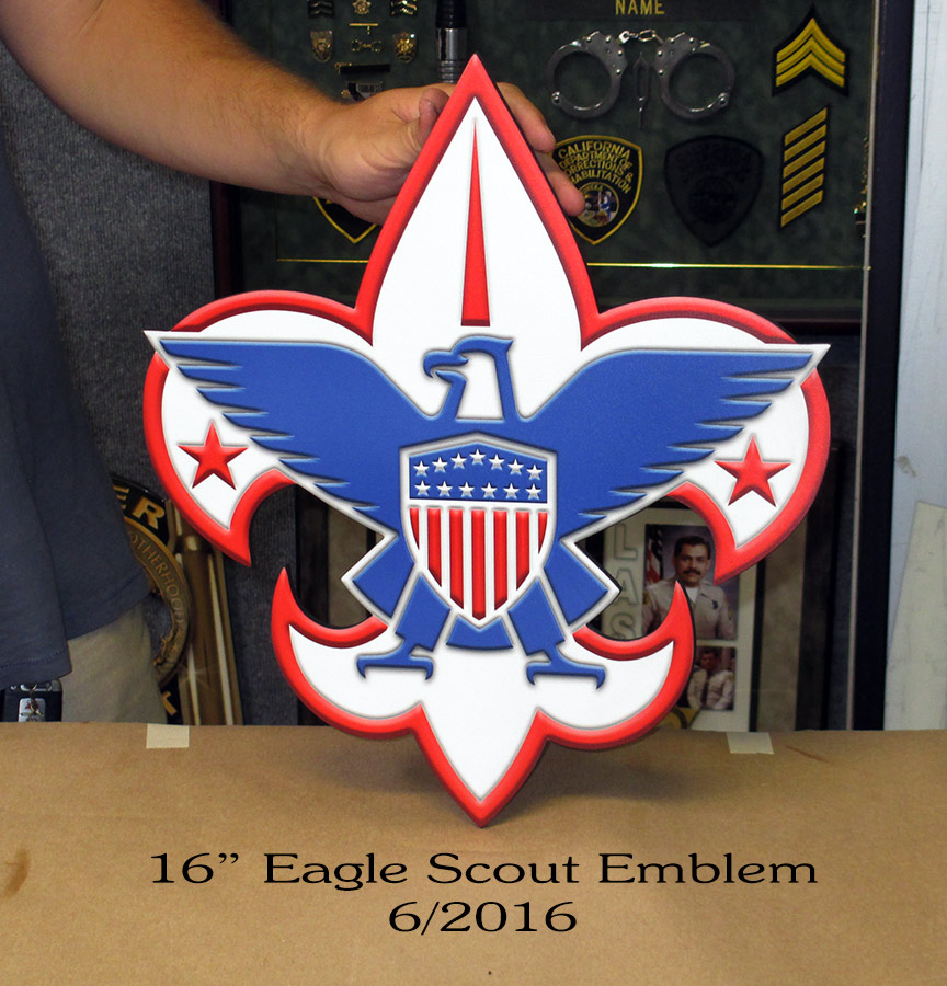 badge frame, emblem, eagle scout