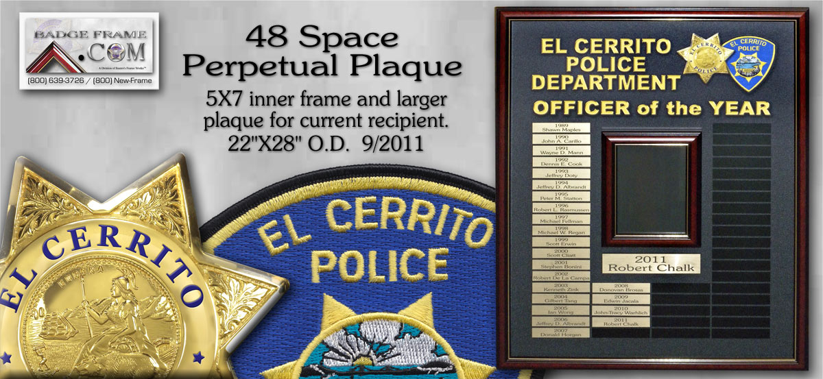 El Cerrito - Officer of the Year