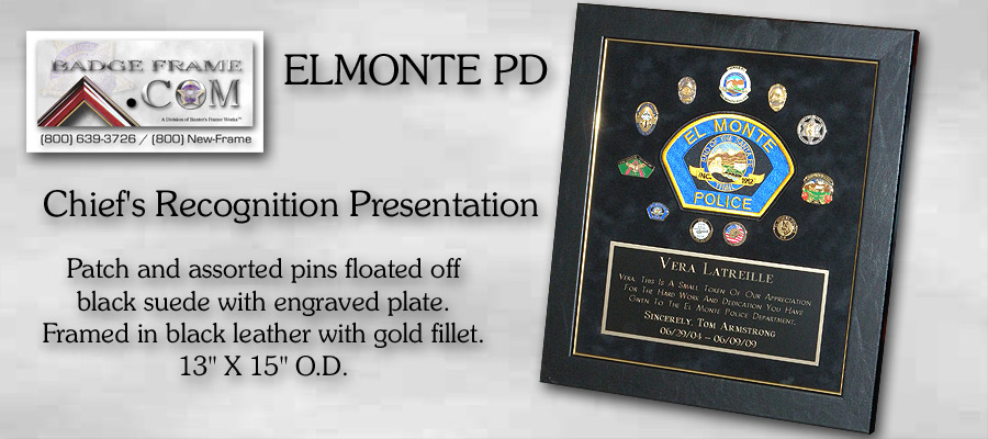 Elmonte Chief's Recognition Presentation