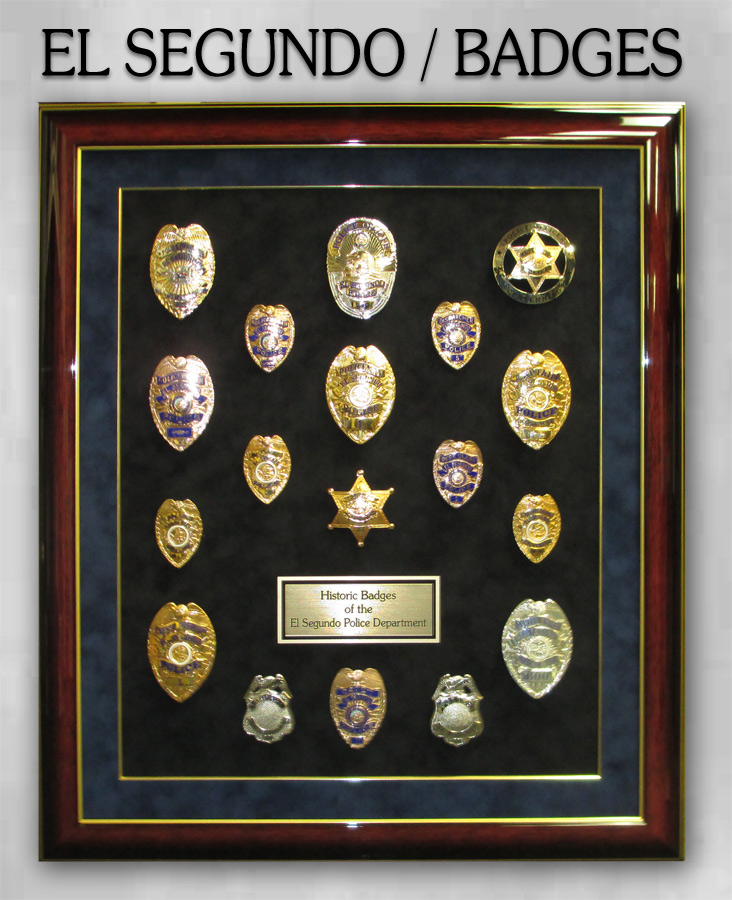 El Segundo PD Badge History