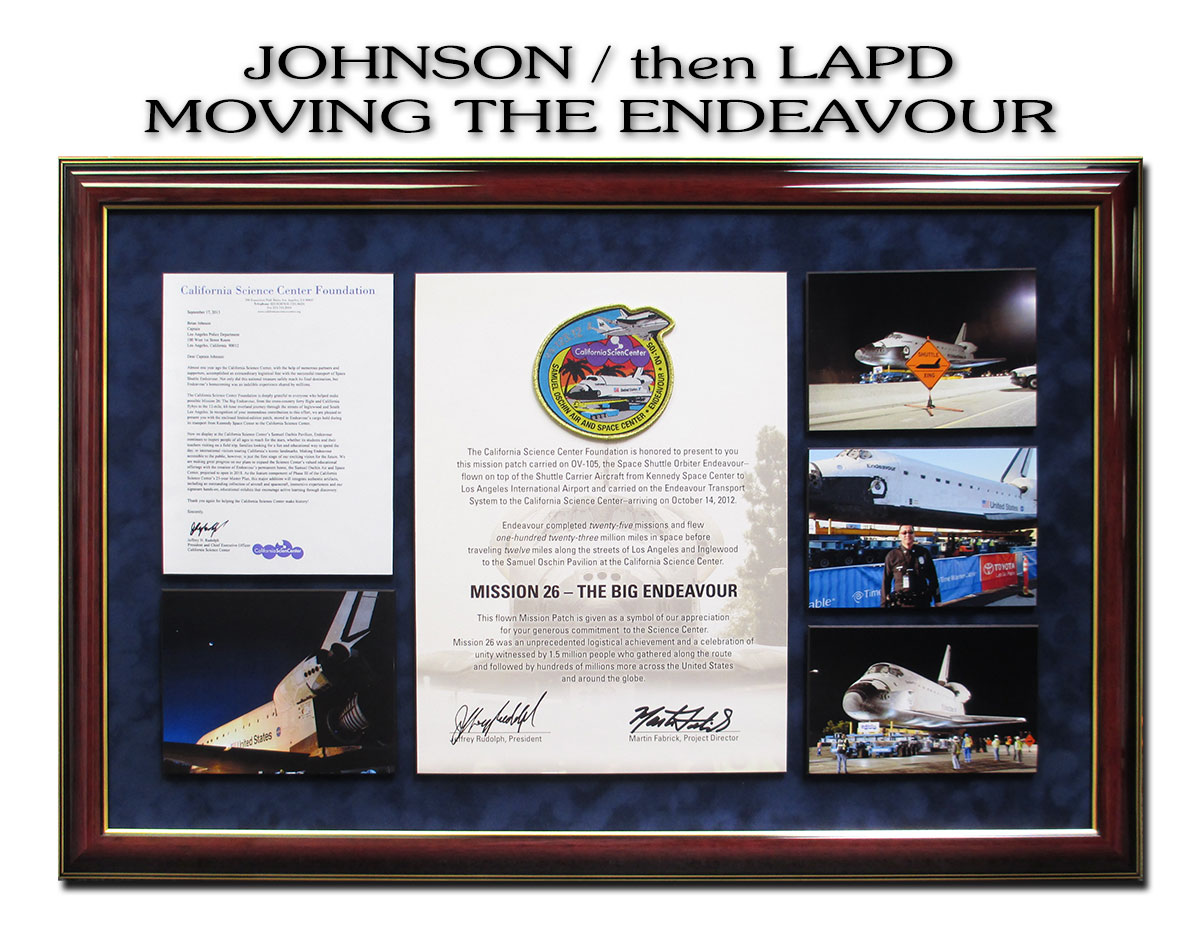 Brian Johnson - LAPD - Moving the Endeavour presentation from Badge Frame