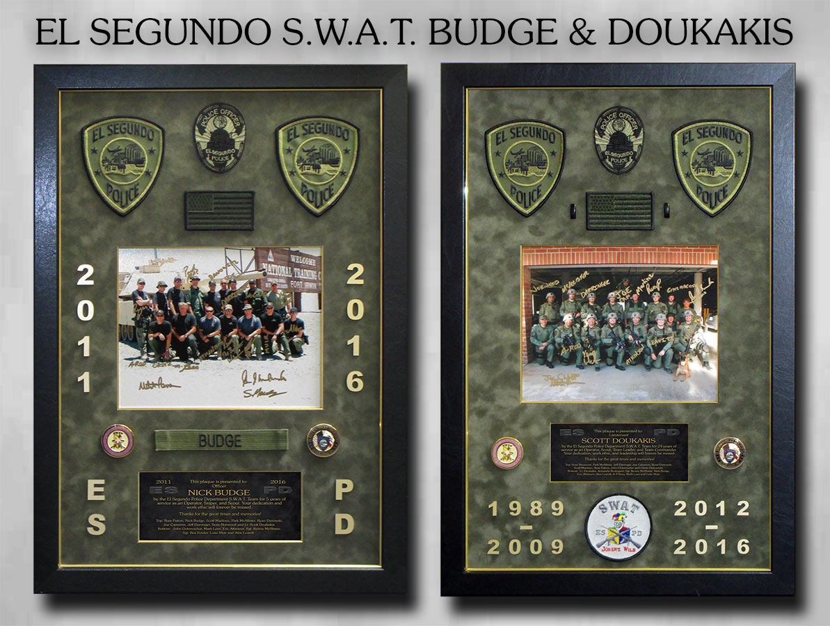 El Segundo SWAT presentations from Badge Frame