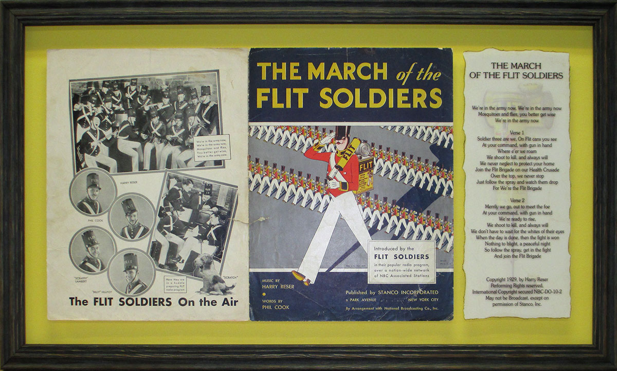 Flit Soldiers Sheet Music with Lyrics