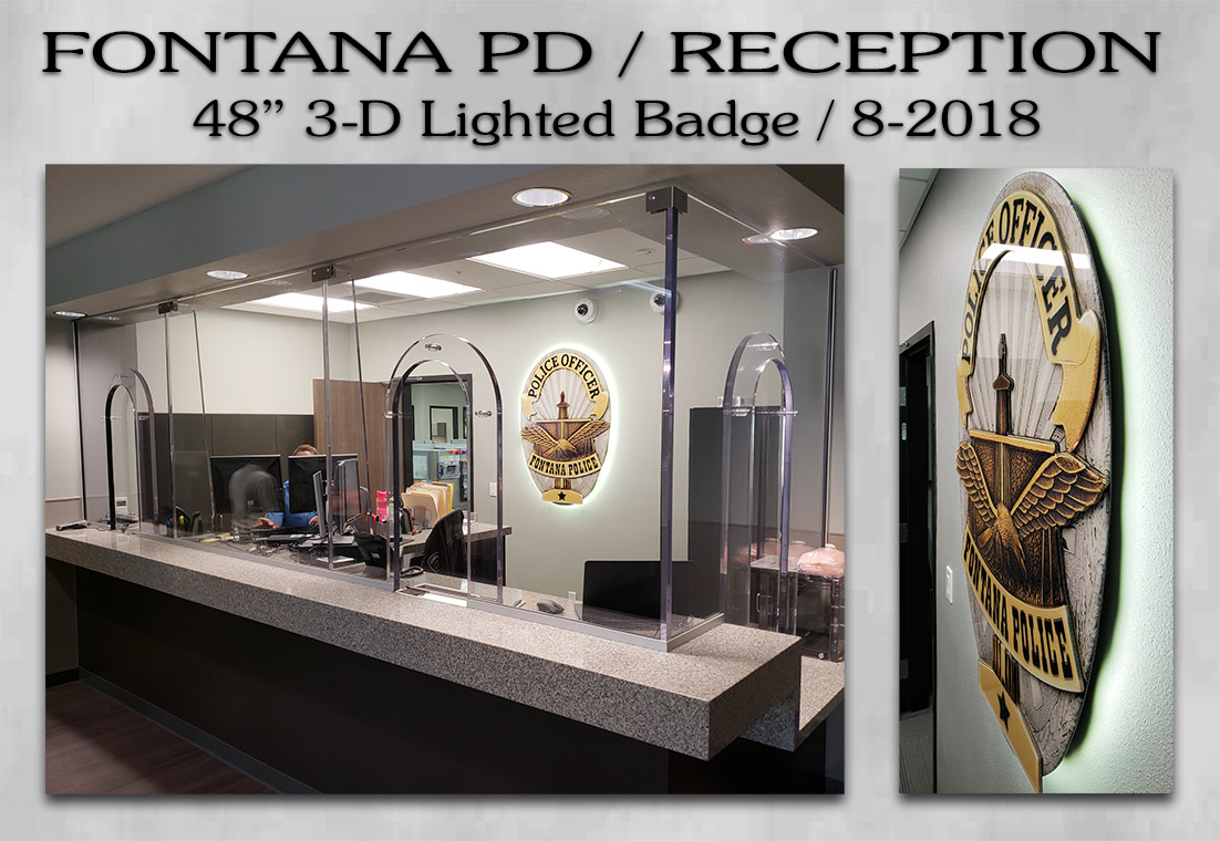 Fontana PD Reception