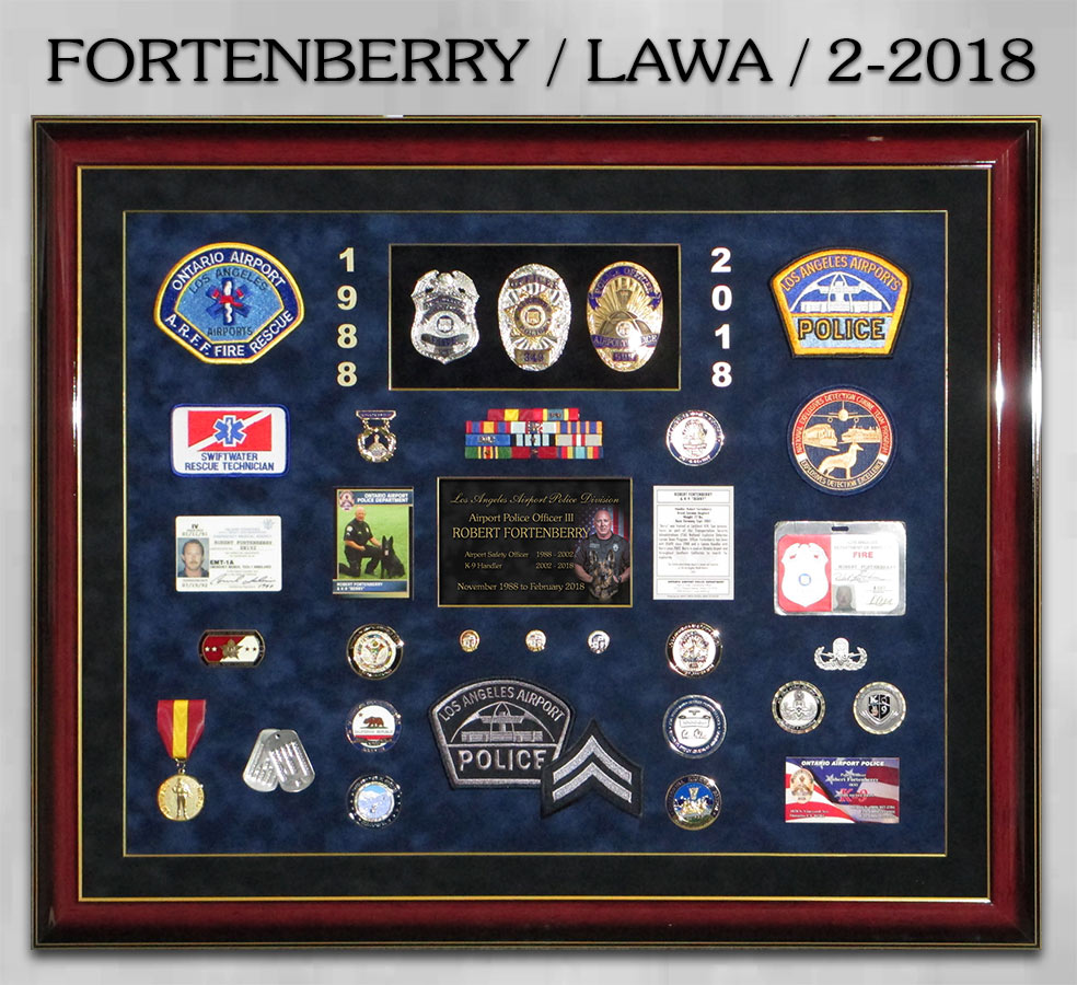 Fortenberry / LAWA retirement from Badge Frame
