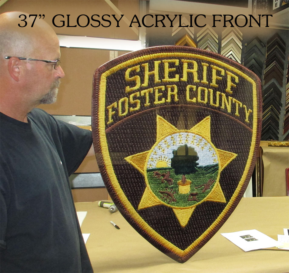 Foster Couny Sheriff Patch