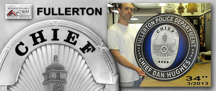 Fullerton PD Chief Seal