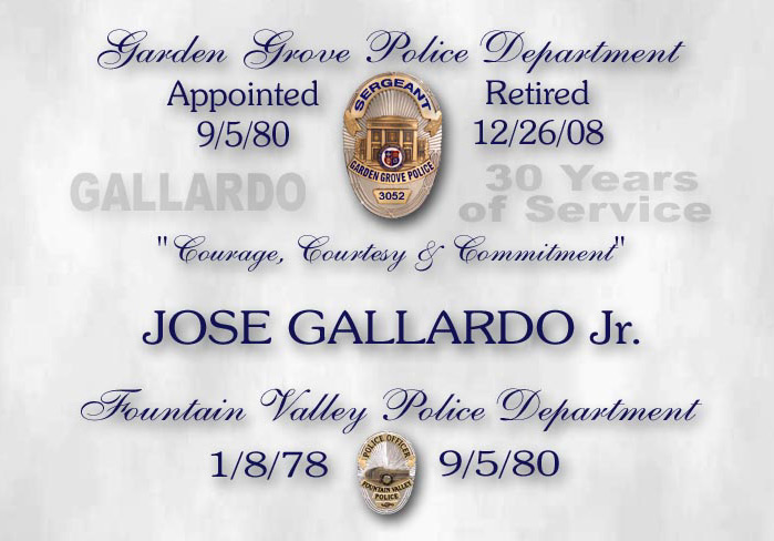 Gallardo -             Garden Grove PD