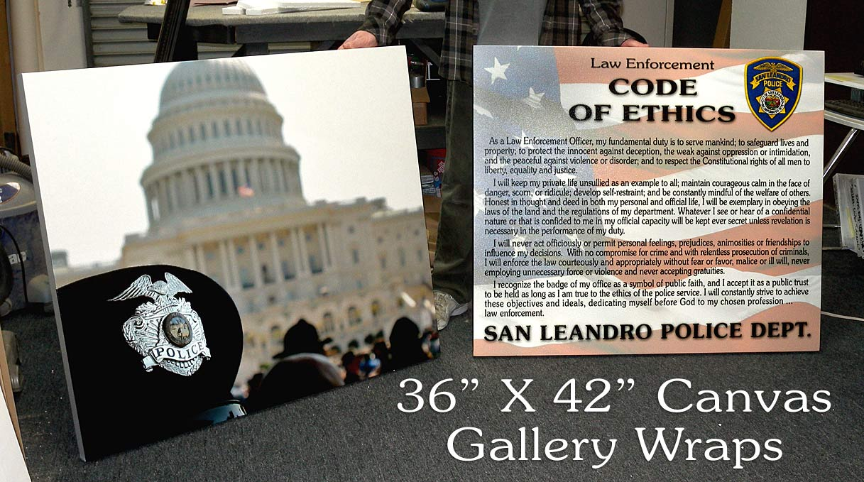 San Leanndro - Gallery Wraped Canvas