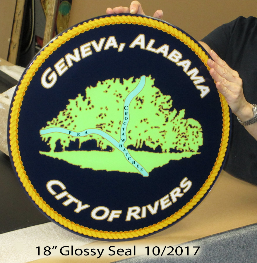 Geneva Alabama Seal