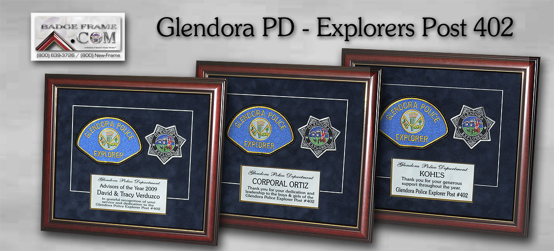 Glendora PD -               Explorers Post 402