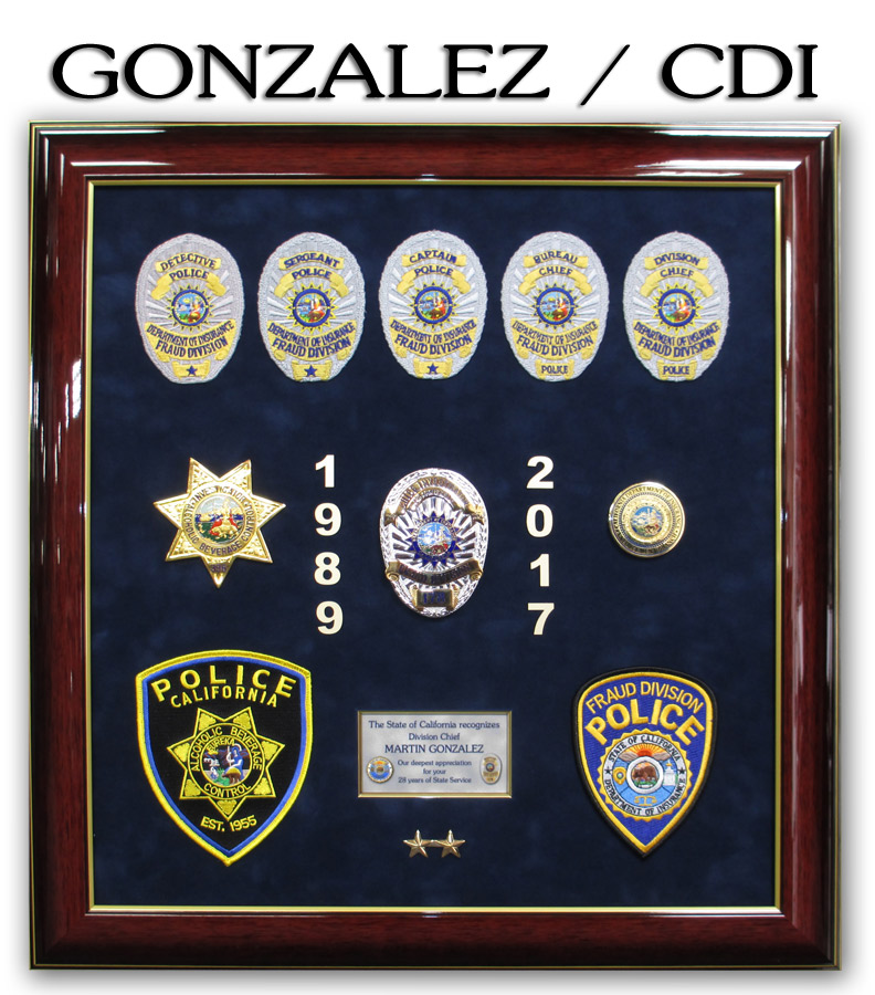 CDI Retirement Presentation - Gonzalez - From Badge FrameRec