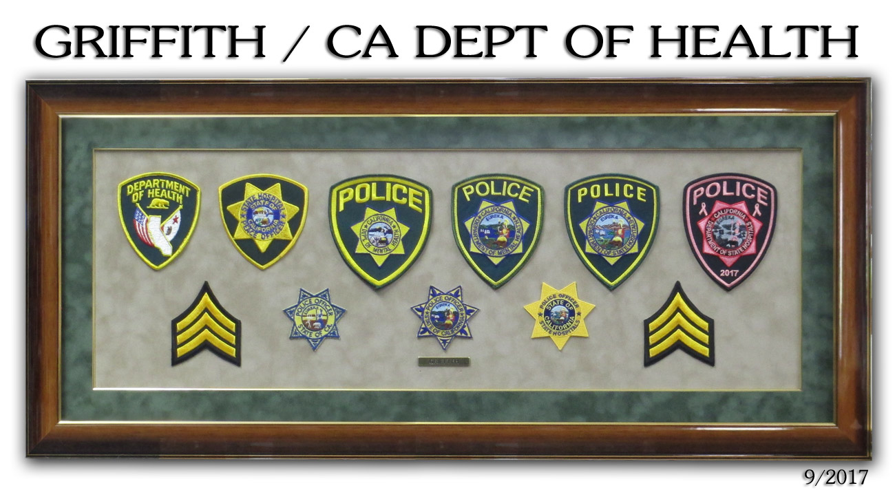 Griffith - CA Department of Health Retirement Presentation from Badge Frame