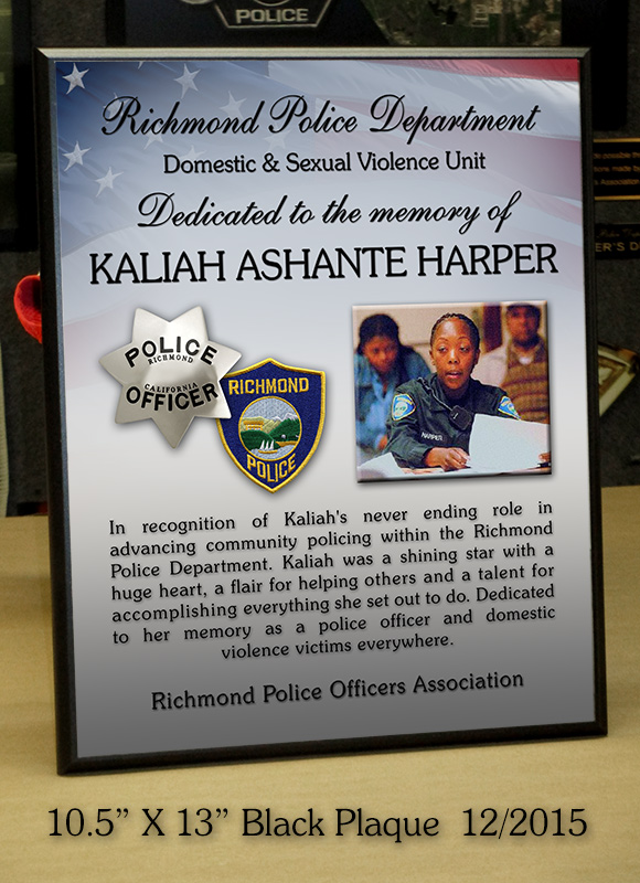 Kaliah Harper / Richmond PD