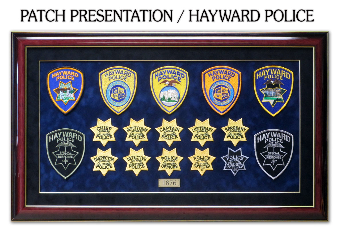 Hayward PD - Patches