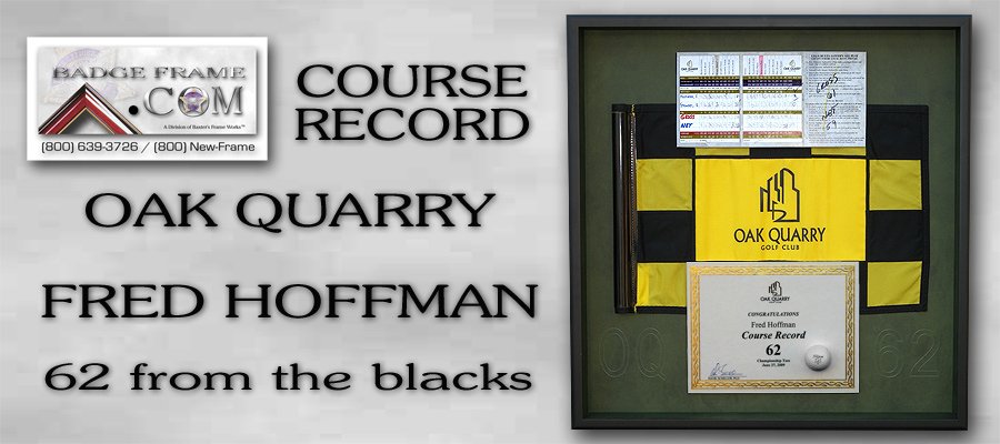 Hoffman,                  Course Record