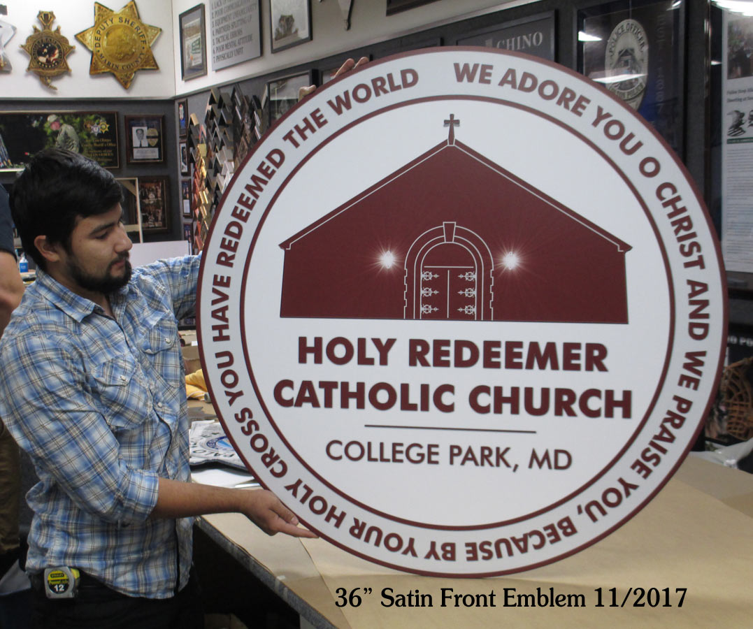 Holy Redeemer Church Emblem